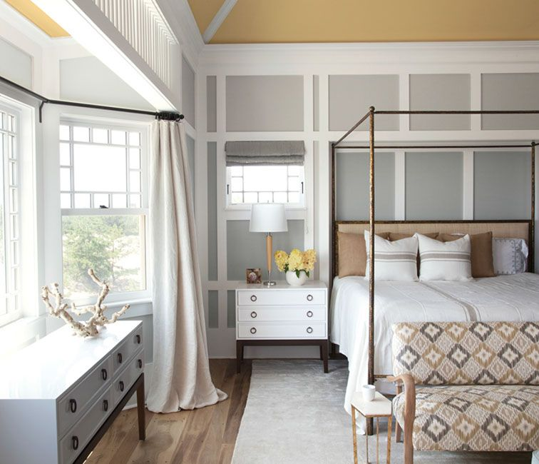 the fifth wall ceiling color concord ivory upper panel insets