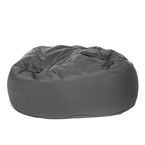 Fabulous Great Bean Bags Huge Monster Bean Bag Indoor Outdoor Grey Caraccident5 Cool Chair Designs And Ideas Caraccident5Info