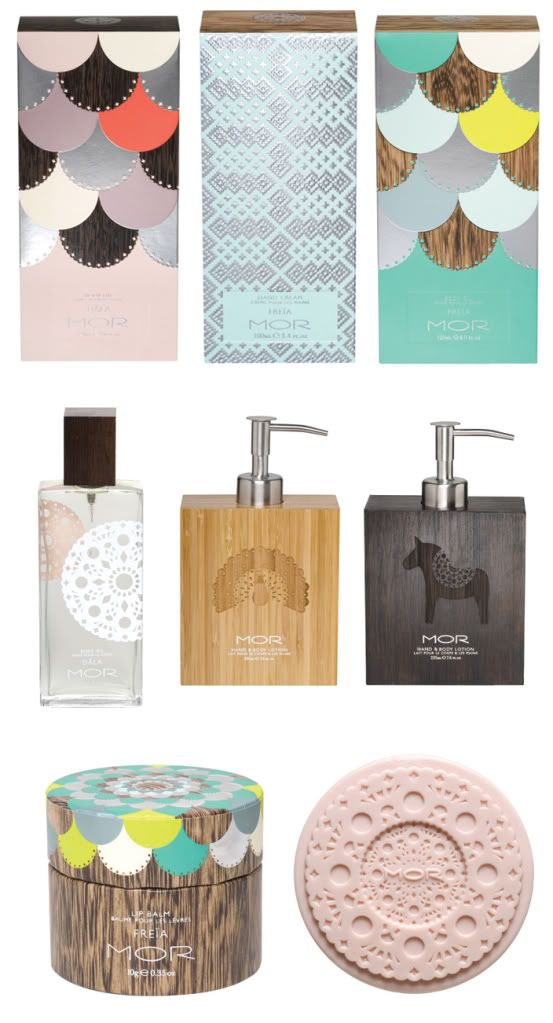 Mor Cosmetics. gorgeous packaging. ♥ lovesgraphic packaging collection!
