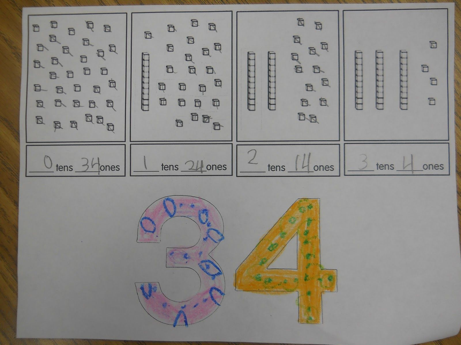 Teks 1 2e Students Can Create Numbers With Tens Ones And Hundreds Units And Compare Them The