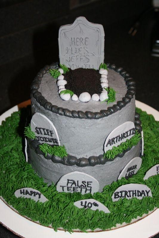 Marvelous 40Th Birthday Cake Ideas For Men Birthday Cakes 40Th Birthday Personalised Birthday Cards Vishlily Jamesorg