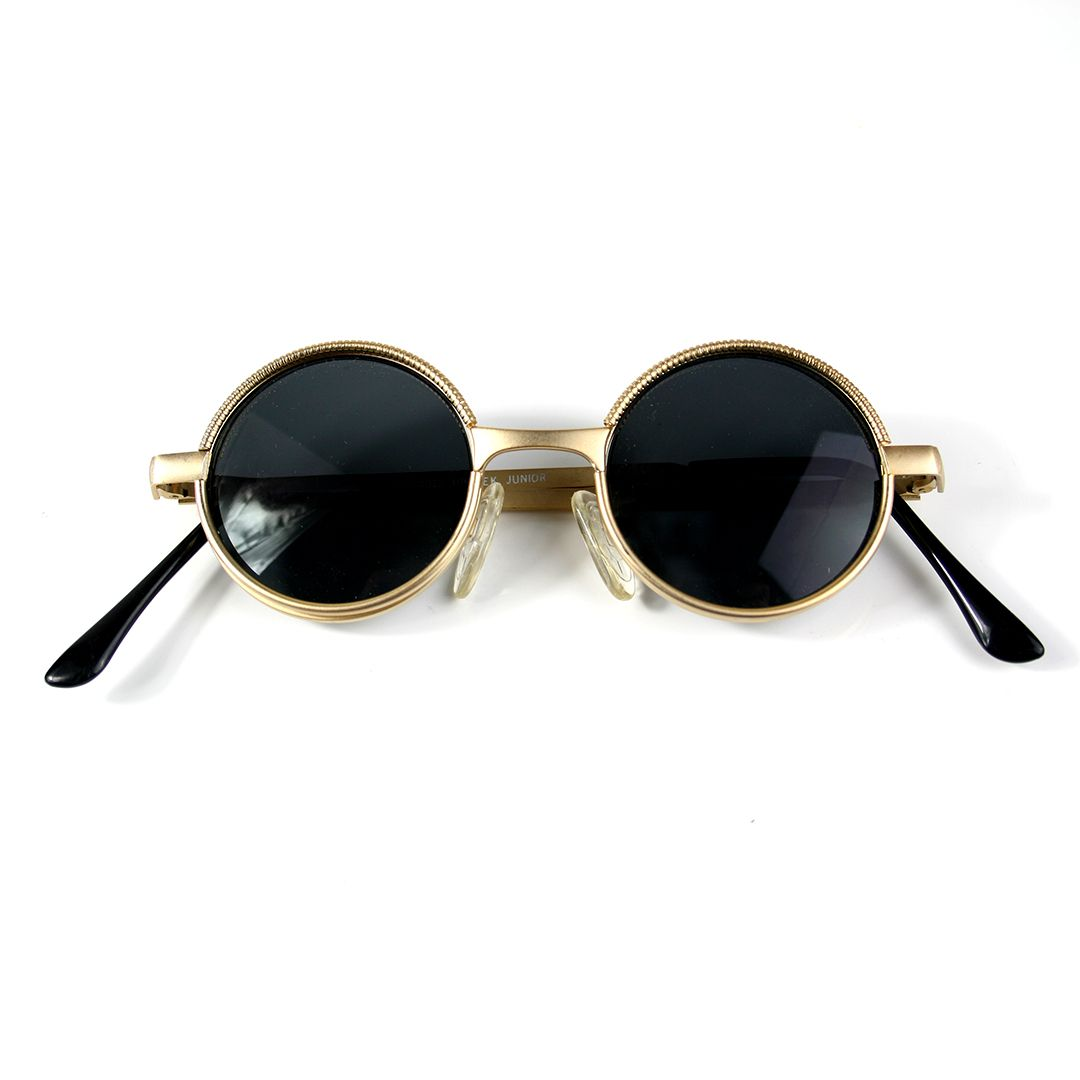 43c58510a2 Small round retro Victorian Goth Steampunk sunglasses spectacles typical  Ozzy Osbourne style. These glasses are a very small fit.
