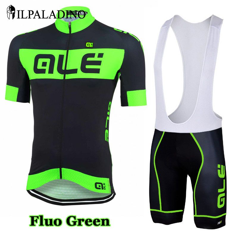 ILPALADINO Men Fluorescent Color Bike Jersey Bicycle Short Sleeves Racing  Bike Shorts Ropa Ciclismo Cycling Clothing f5ac62379