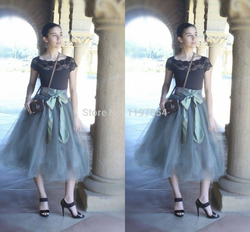 Find More Skirts Information about Fashion Long Tulle Skirt Women ...