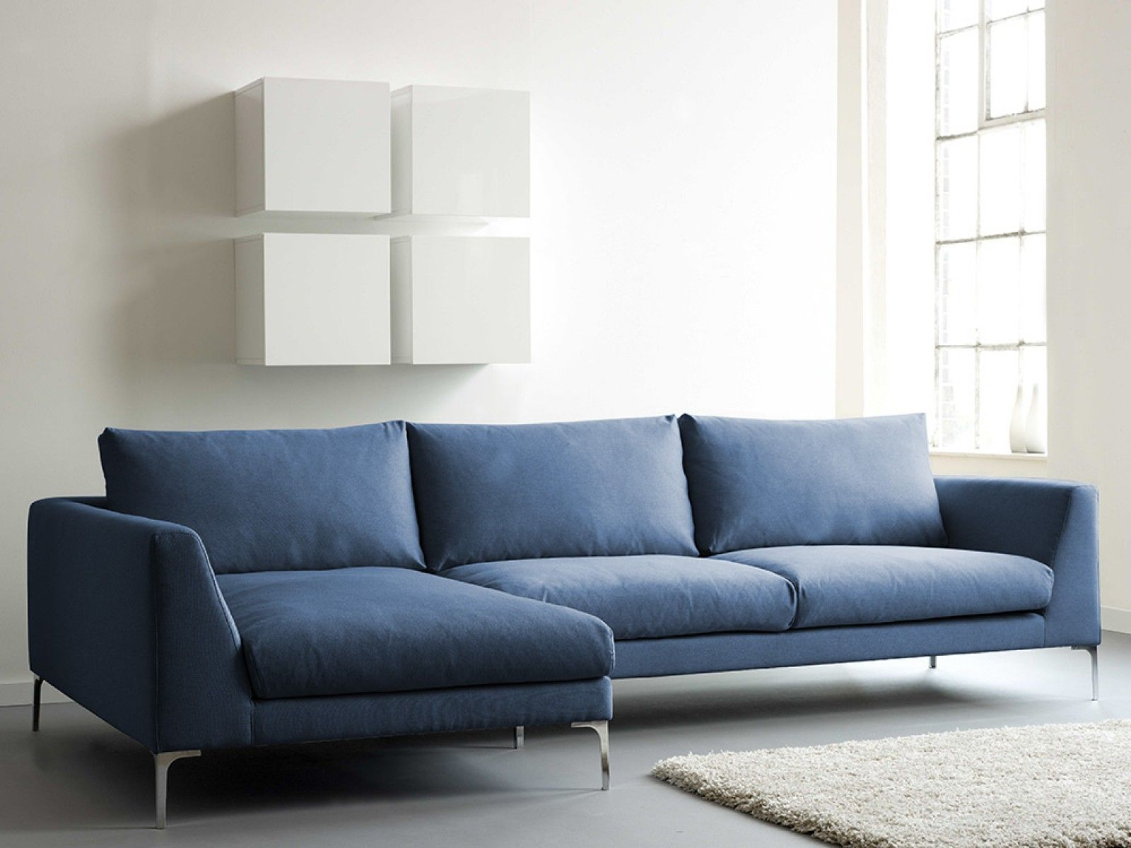 Drew Corner Sofa Cool Blue Furniture Pinterest