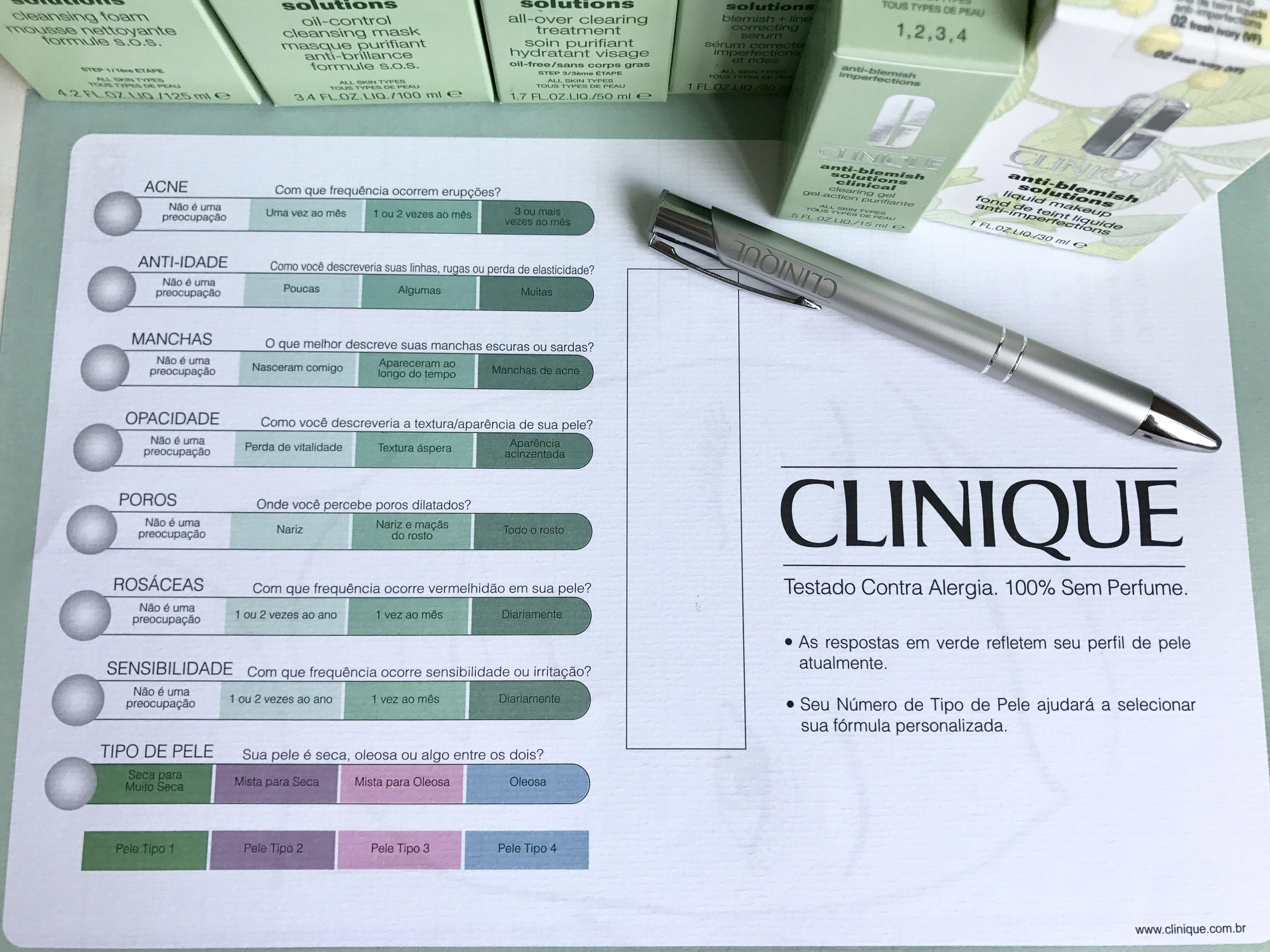 A Convite Da Clinique Estou Participando Do Desafio Anti Blemish