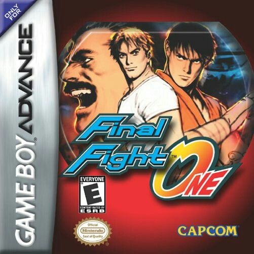 Final Fight One for GBA