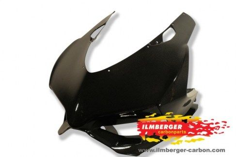 Ilmberger Front Fairing Racing Carbon - Ducati Panigale 1199    www.italianmotostyles.com