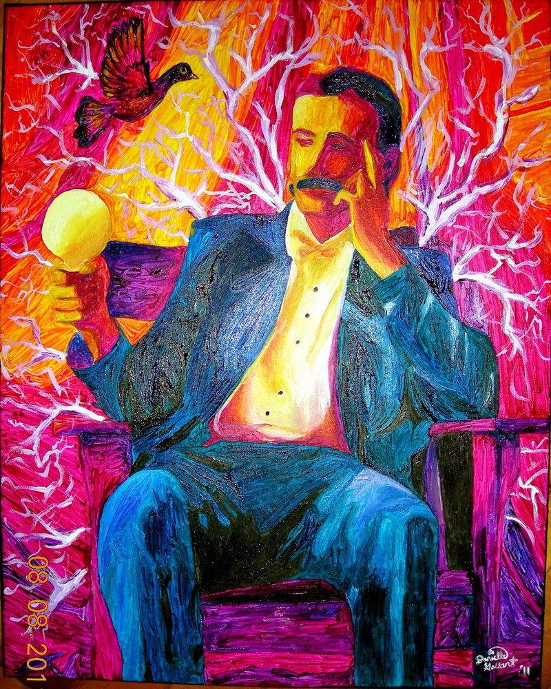 Nikola Tesla Wallpapers 35 Wallpapers: Nikola Tesla ... Póster... Por Astygirl