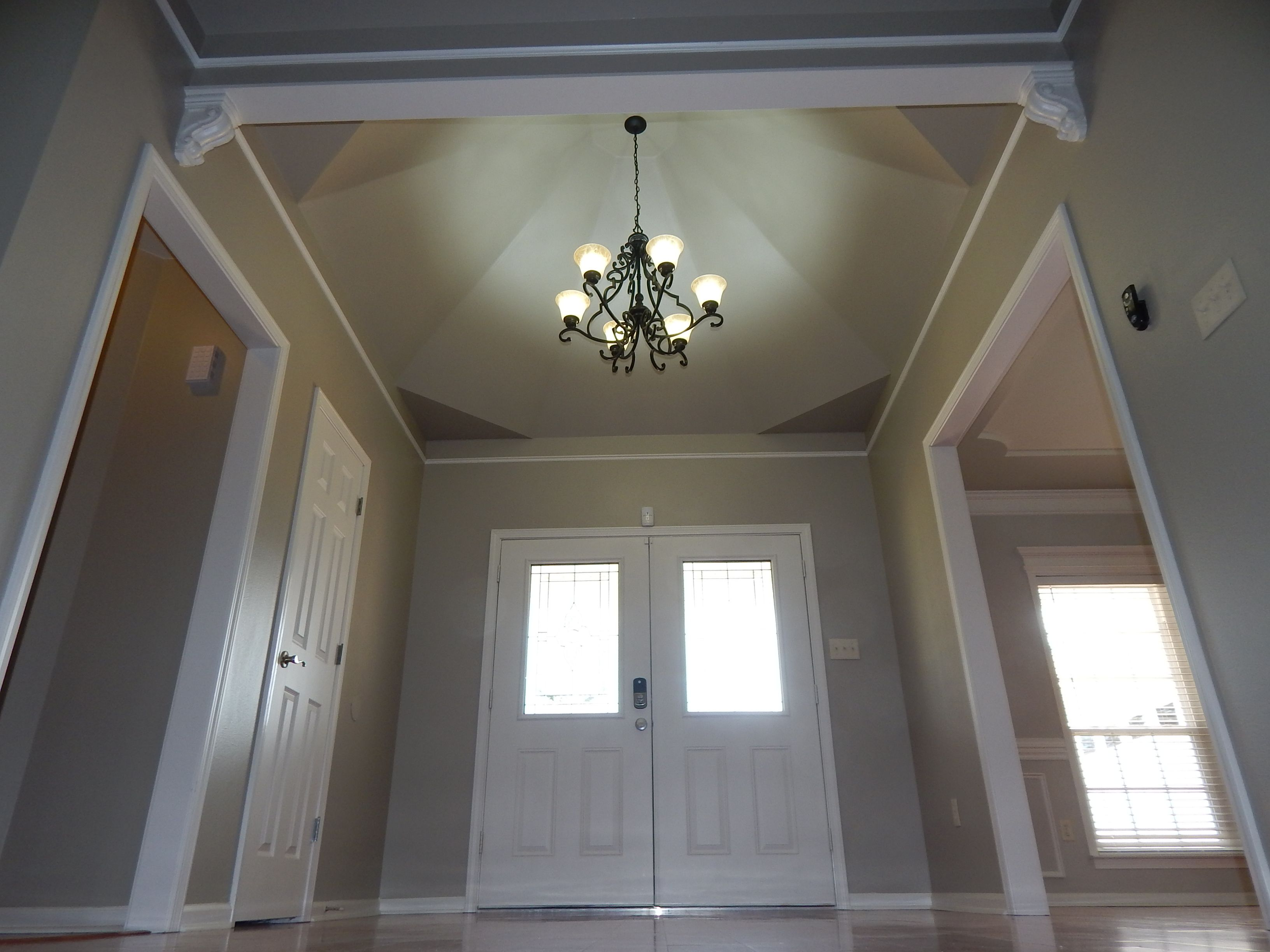 Walls: Sherwin Williams Amazing Gray Sw 7044 Trim: Sherwin
