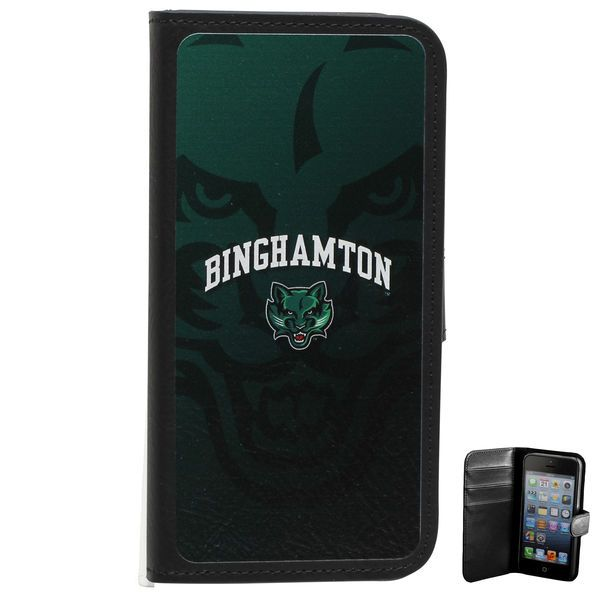 Binghamton Bearcats Watermark iPhone 5 Wallet - $17.99