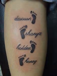 Tattoos Of Childrens Names For Women