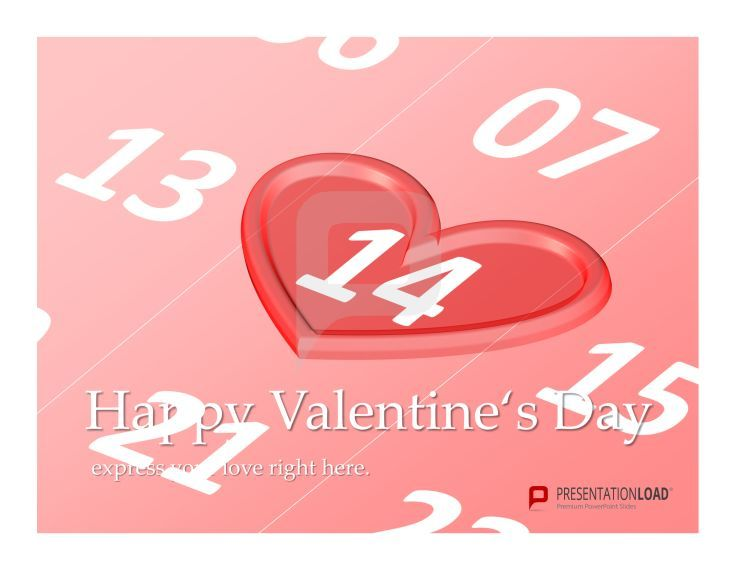February 14th – Save the date with our Free PowerPoint Templates ...
