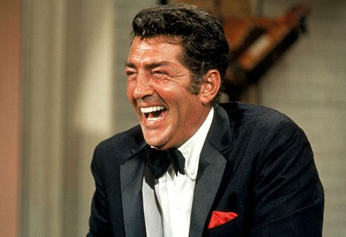 Dean Martin, I love when he cracked up!!