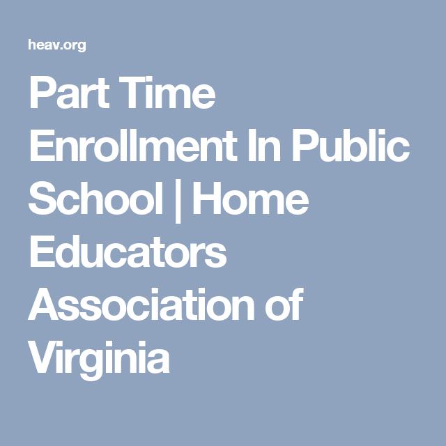 Schools Education6 25 18students: Part Time Enrollment And Public School Access