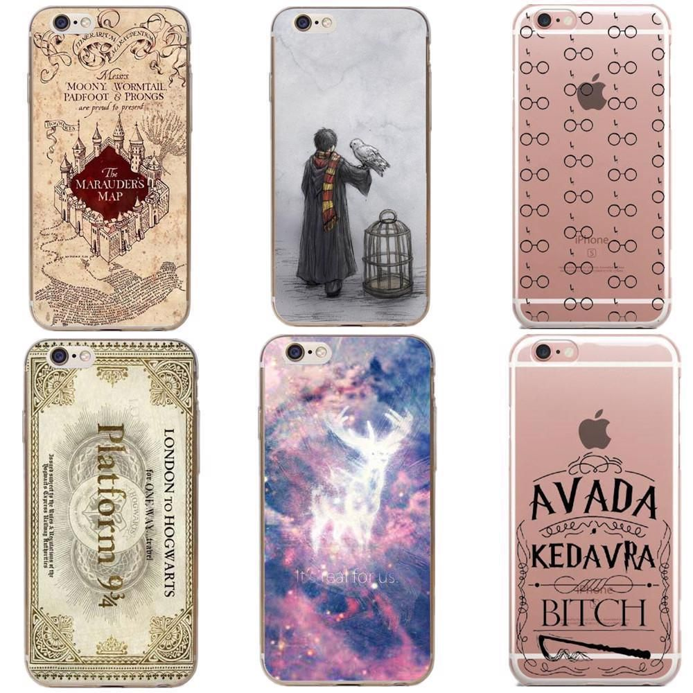 $4.99 - Harry Potter Deathly Hallows Hard Phone Case Iphone 5/6/7 ...