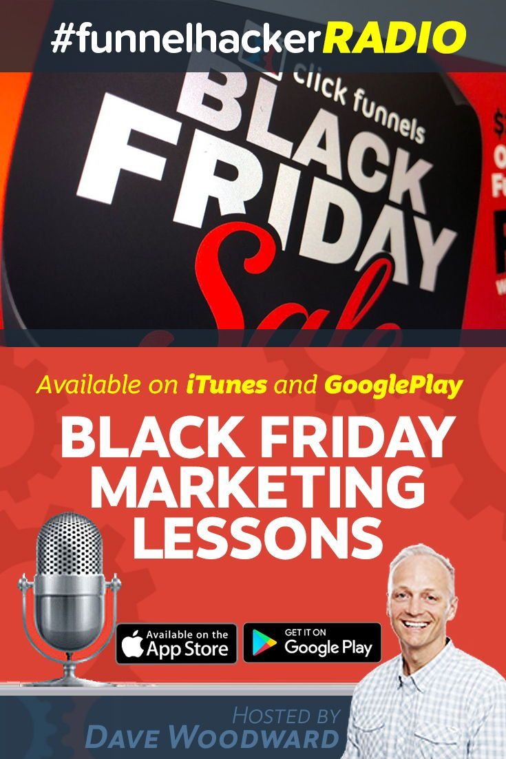 Black Friday Marketing Lessons with Dave Woodward