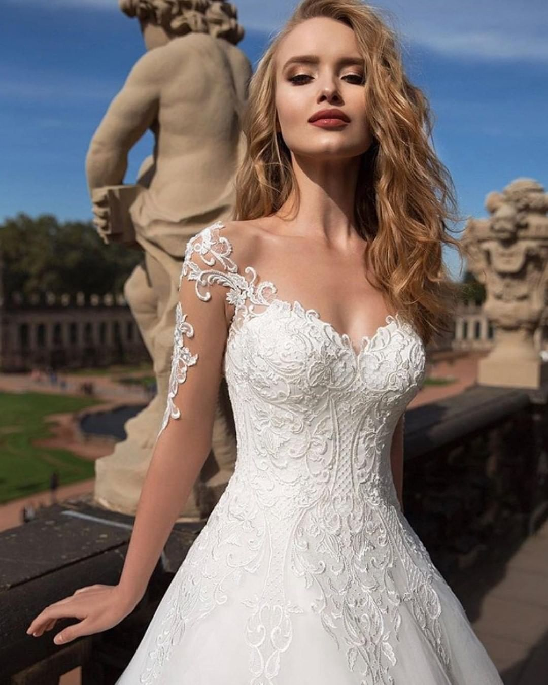 Wedding Dresses Gallery On Instagram Decision Decision Which One Ladies 1 2 3 4 5 Ball Gowns Wedding Navy Wedding Guest Dresses Wedding Dresses Lace [ 1350 x 1080 Pixel ]