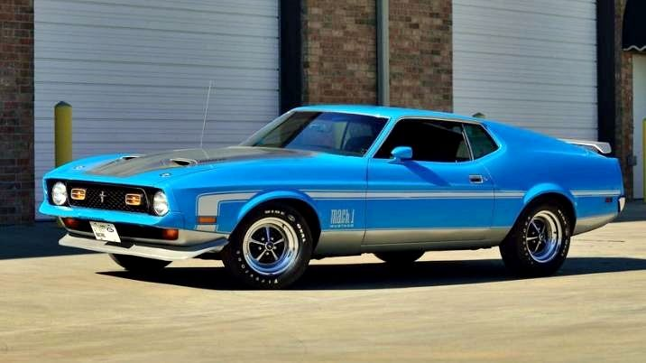 1971 Ford Mustang Mach 1 Fastback SCJ 429/375 HP, 4-Speed ...1971 Mustang Mach 1 Fastback 4 Speed