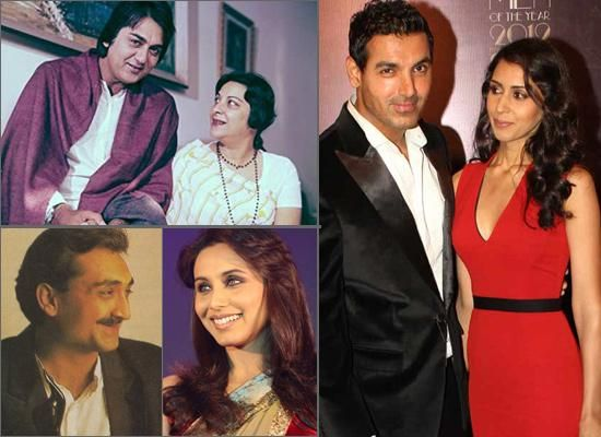12 Most Surprising Bollywood Marriages Of All Time   Famous