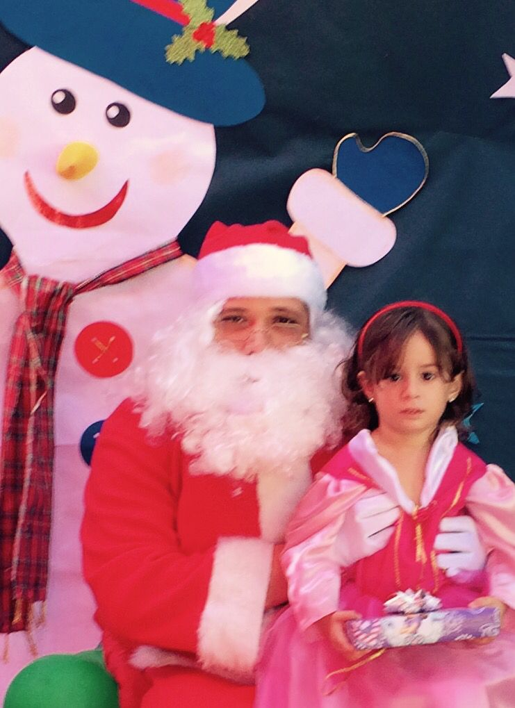 Natalia Navidad escuelita