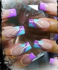 french manicure colorate - Cerca con Google