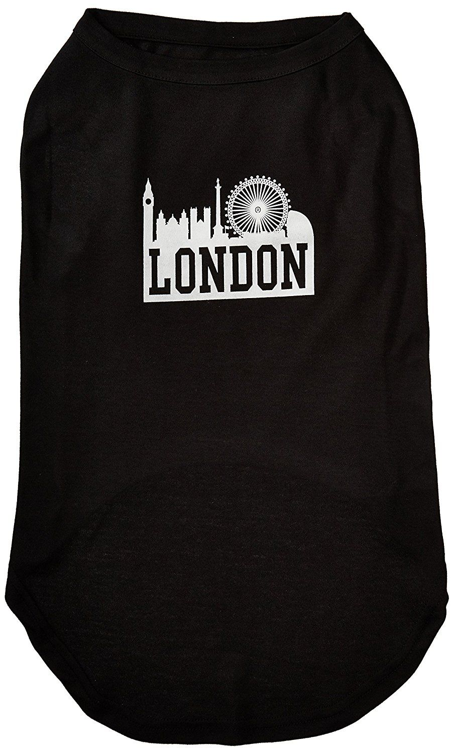 Mirage cat Products 20 Inch London Skyline Screen Print Shirt for