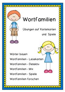Wortfamilien Mix T | Teaching | Pinterest | Deutsch, Schule und ...