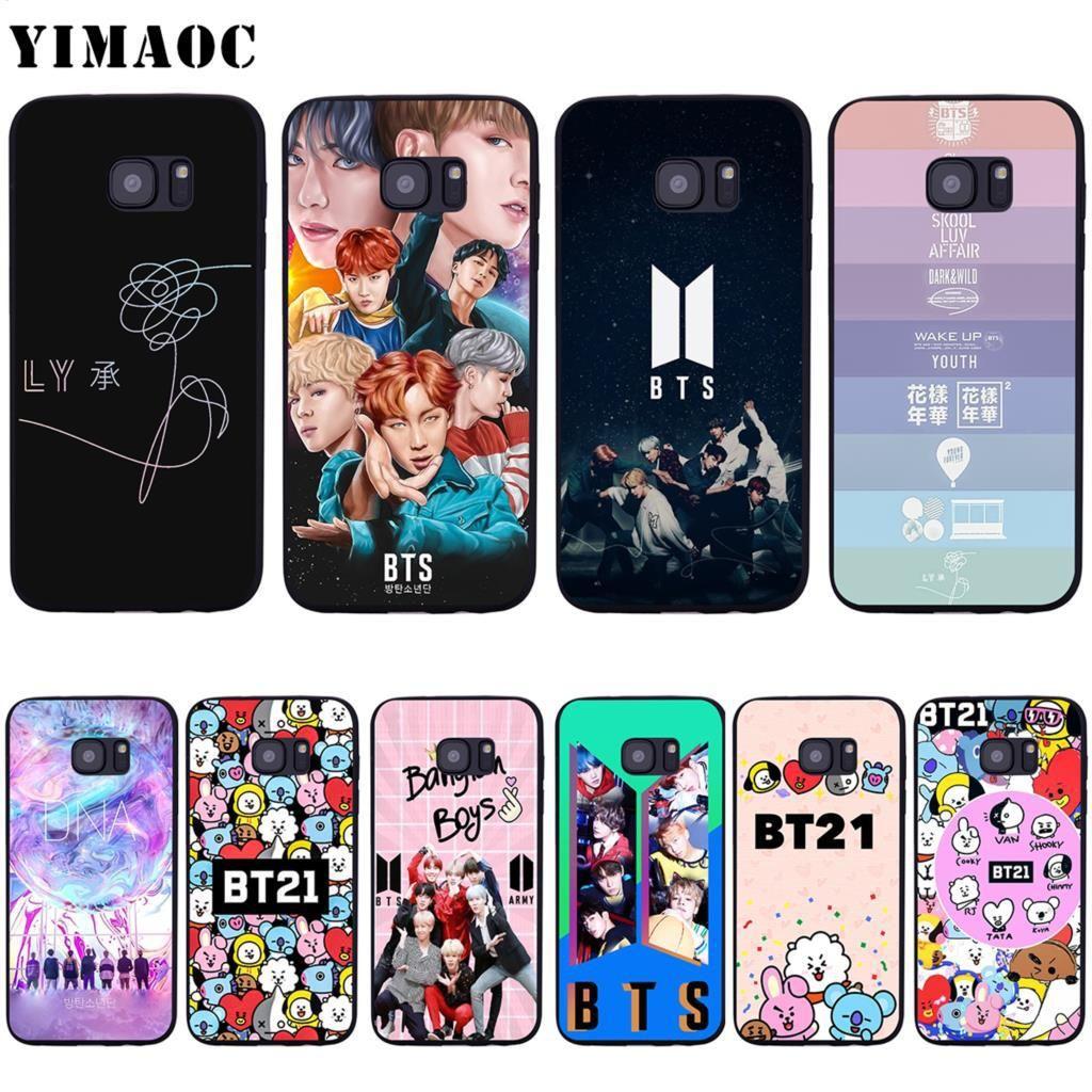 BTS Bangtan Boys Galaxy iphone case