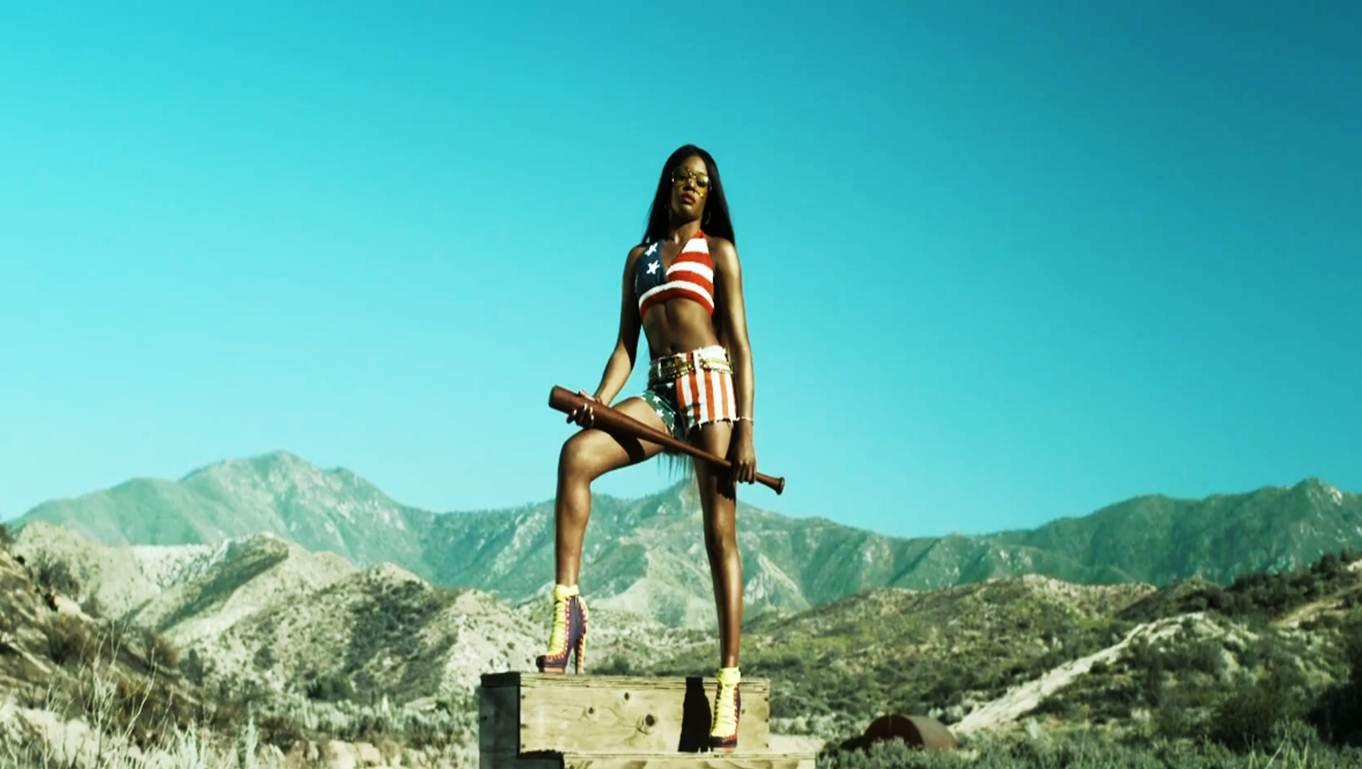 Azealia Banks - Liquorice: Music Video Review | Azealia banks, Patriotic  bikini, Stars and stripes bikini