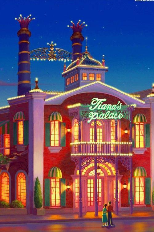 Tiana S Palace The Princess And The Frog 2009 Disney