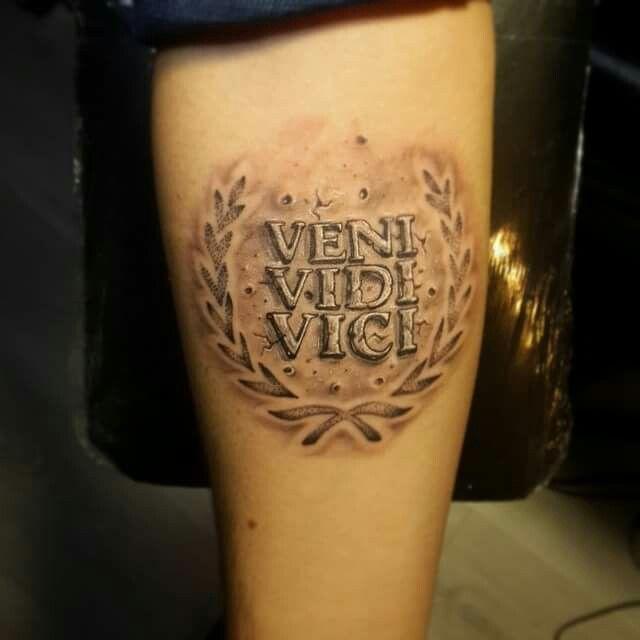 Veni Vidi Vici Tattoo Ideas: Tattoos, Tattoo Roma Ve
