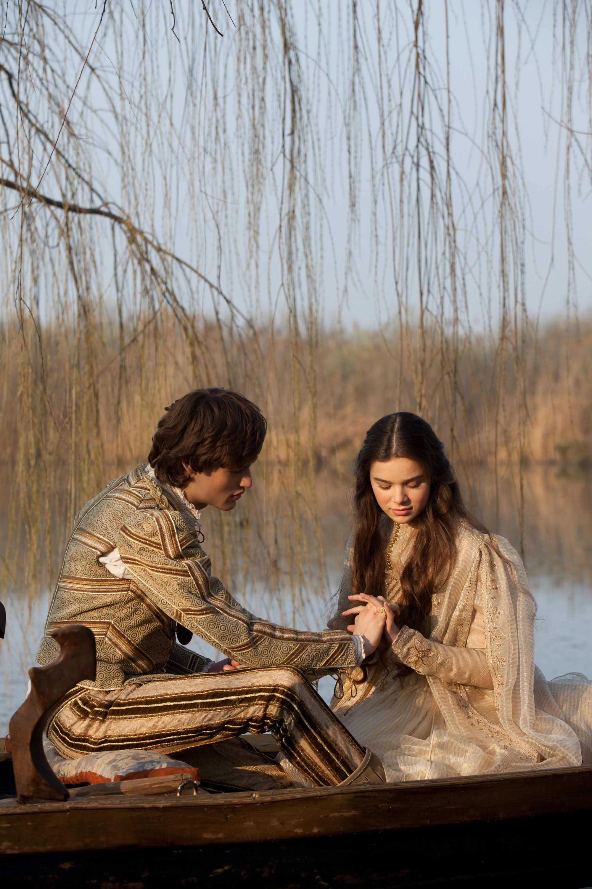 Romeo Juliet (2013). Douglas Booth as Romeo and Hailee ...