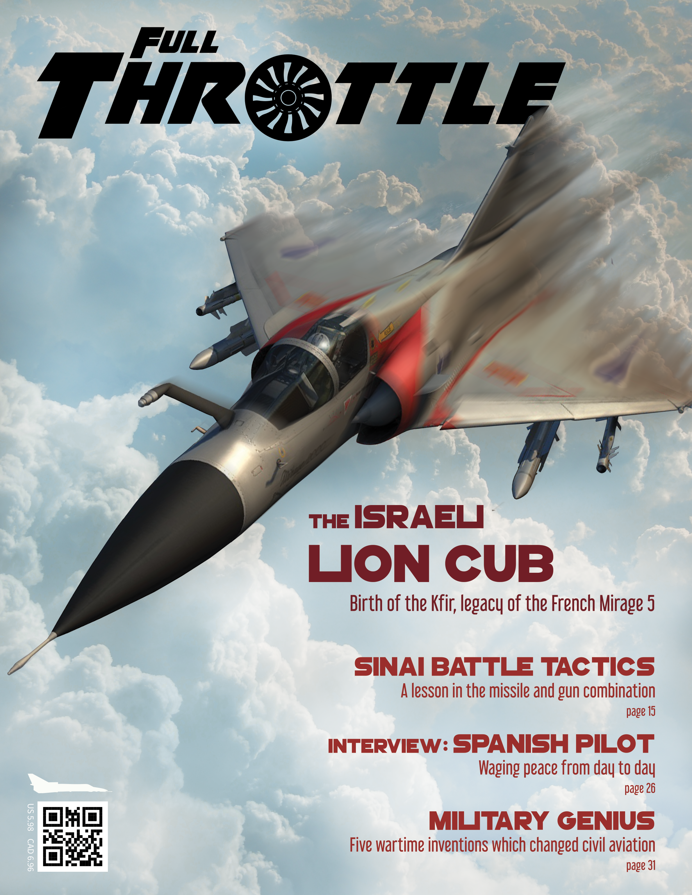 <i>Full Throttle</i>, magazine cover for Digital Graphics
