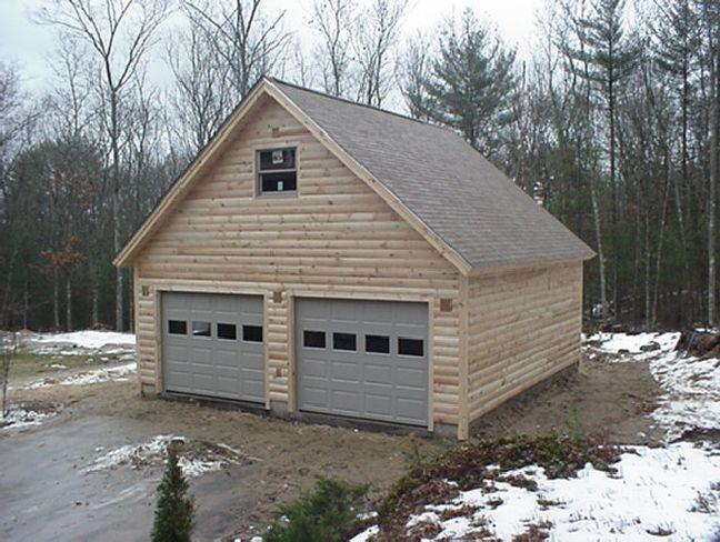 pole barn garage with loft