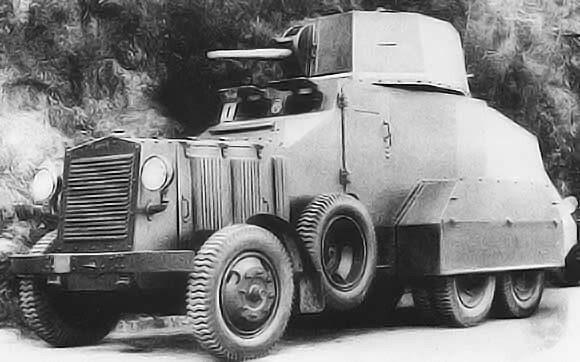 Italian Autoblindo Fiat 611 (AB 35) 1932, pin by Paolo Marzioli