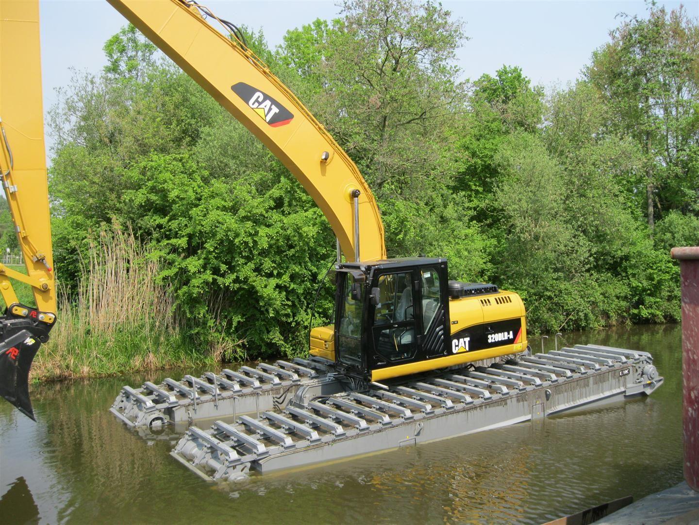 Cat Excavator life raft CAT equipment Pinterest