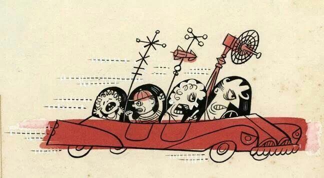 "Jim Flora ""Road Rage"""