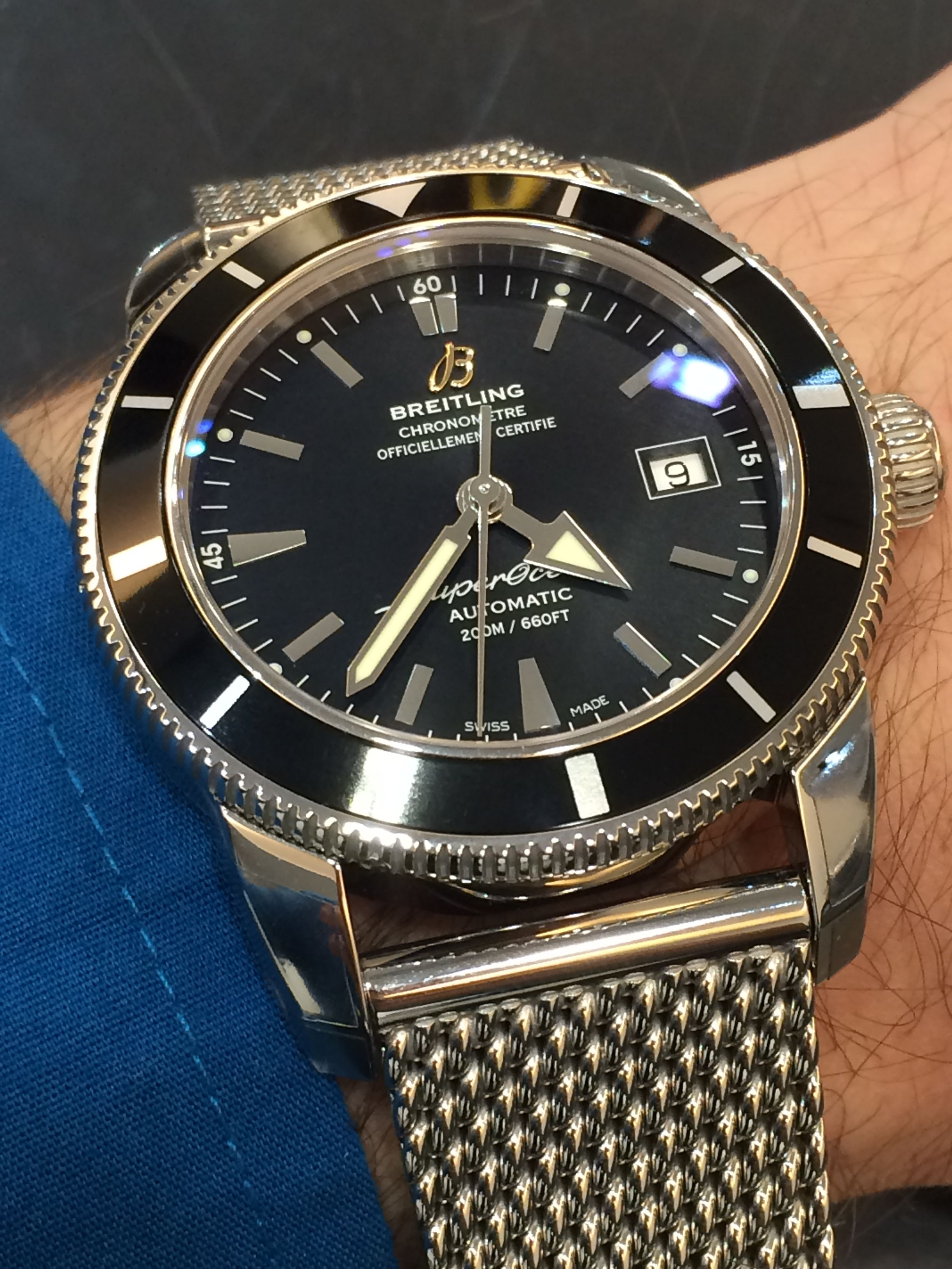 Breitling Superocean Heritage 46 mm black