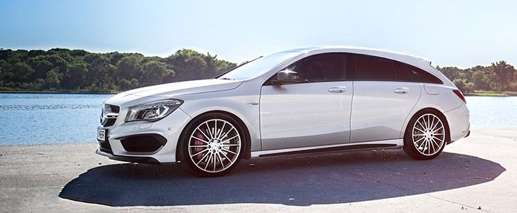 2016 Mercedes-Benz CLA45 AMG Shooting Brake Review - This car is all ...