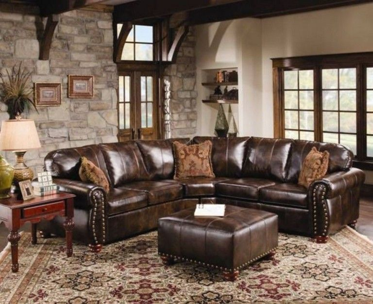 46 Awesome Modern Leather Sofa Design Living Room Living Room Leather Leather Sofa Living Room Brown Leather Sofa Living Room