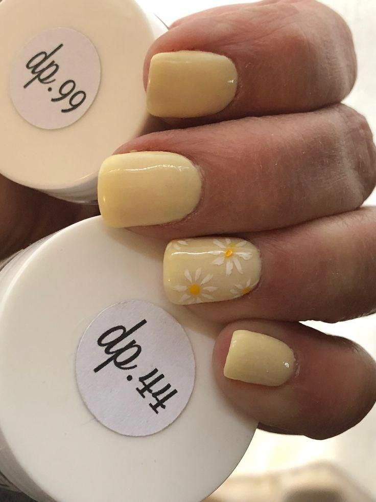 Yellow Gel Nails Designs | Yellow Gel Nails – Trend Spring Nails Coffin 2019