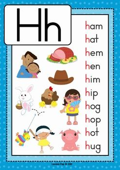 6 letter words starting with h phonics letter of the week h word poster phonics and 20266 | 22b4348be6f32de3138dbed6428ab7fc