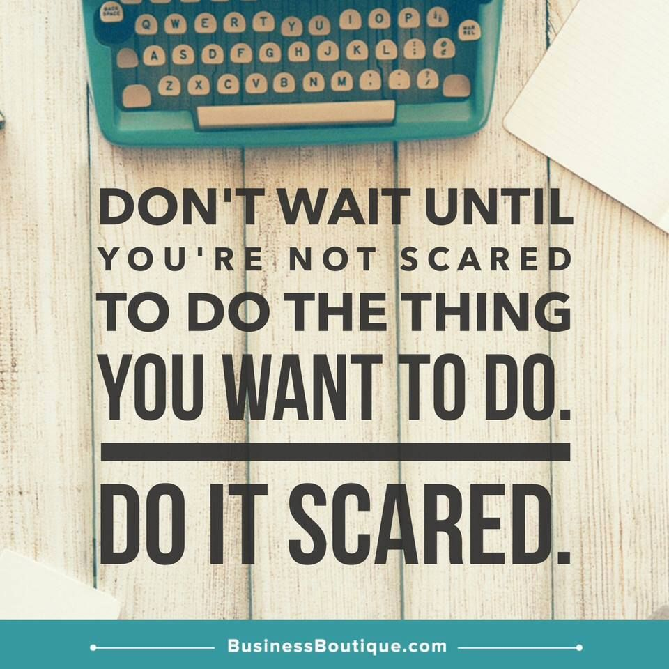 Do It Scared Life Humor Funny Memes About Life Giving Up On Life