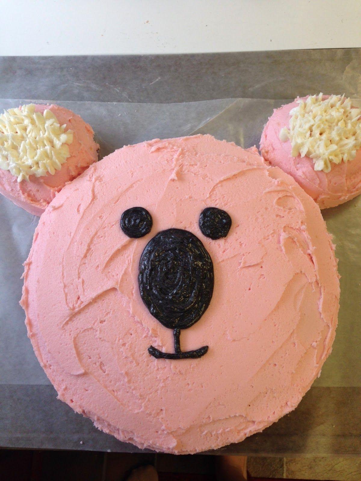 Astonishing Step By Step Koala Bear Cake Tutorial With Images Birthday Funny Birthday Cards Online Hetedamsfinfo