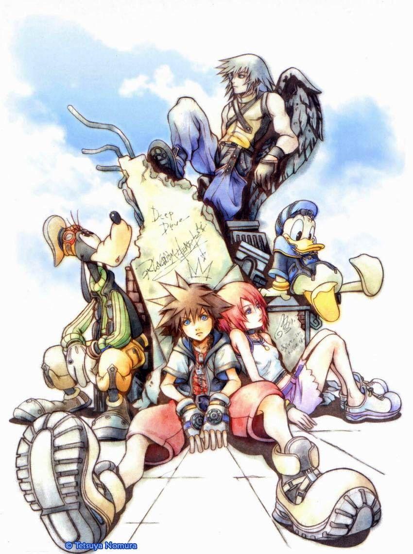 Official Artwork Galleries Gt Kingdom Hearts Final Mix