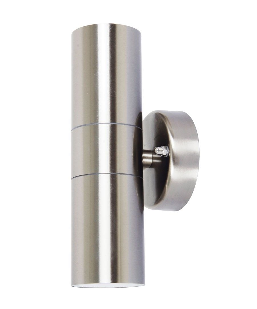 Lucci project updown exterior wall bracket in stainless steel 40 beacon lighting lucci project 2 x updown exterior wall bracket in stainless steel arubaitofo Choice Image