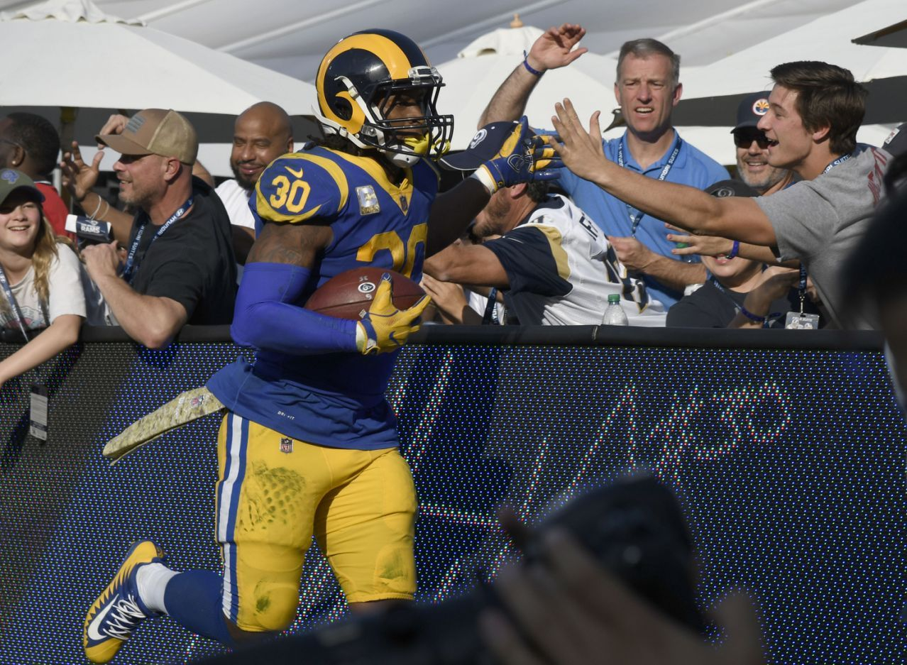 This Is Why Rams Todd Gurley Is Mentioned In Mvp Talk Todd Gurley Brandon Marshall Los Angeles Rams