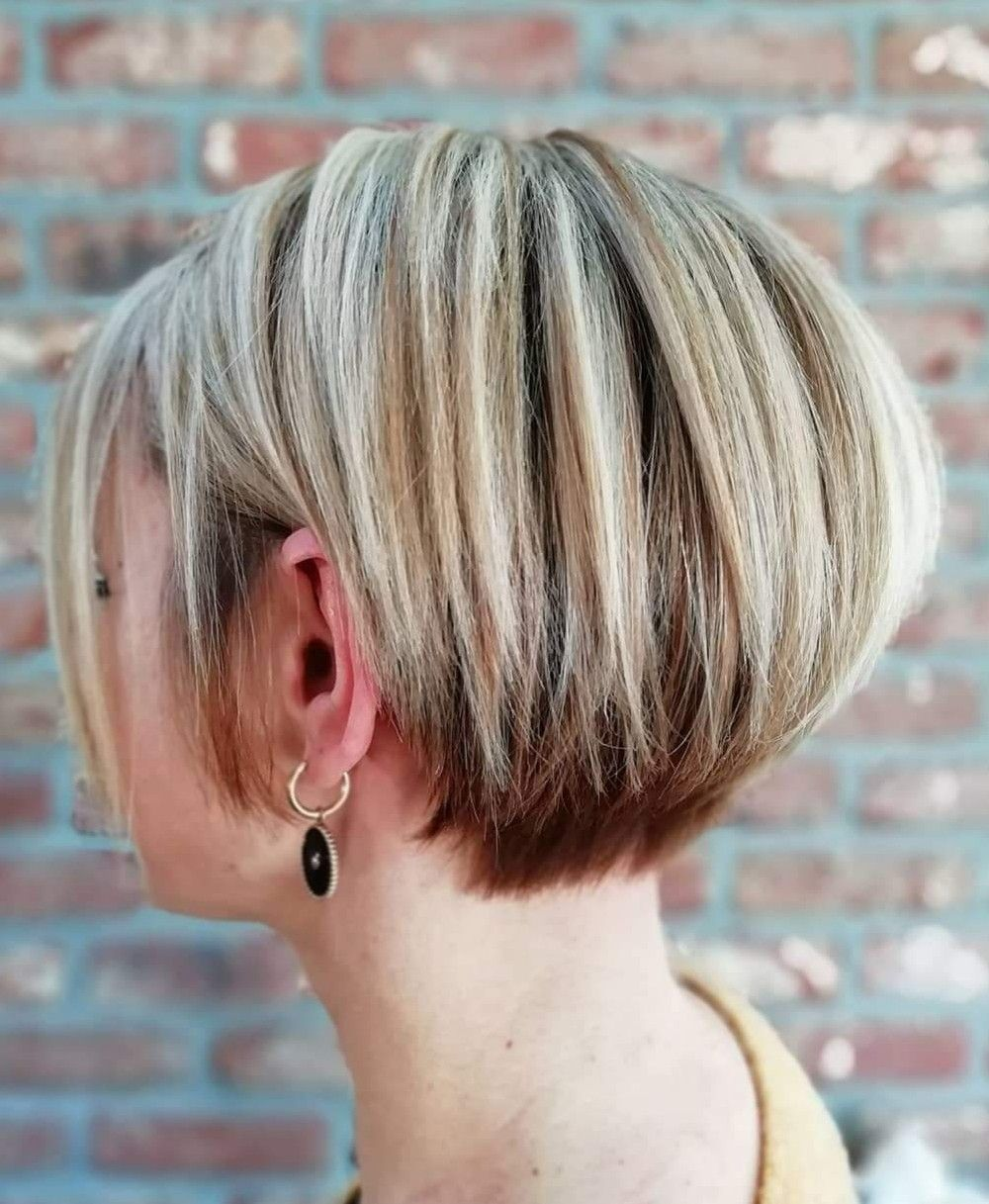 Long Pixie Hairstyle In 2020 Short Hair Back Short Hair Back View Long Pixie Hairstyles