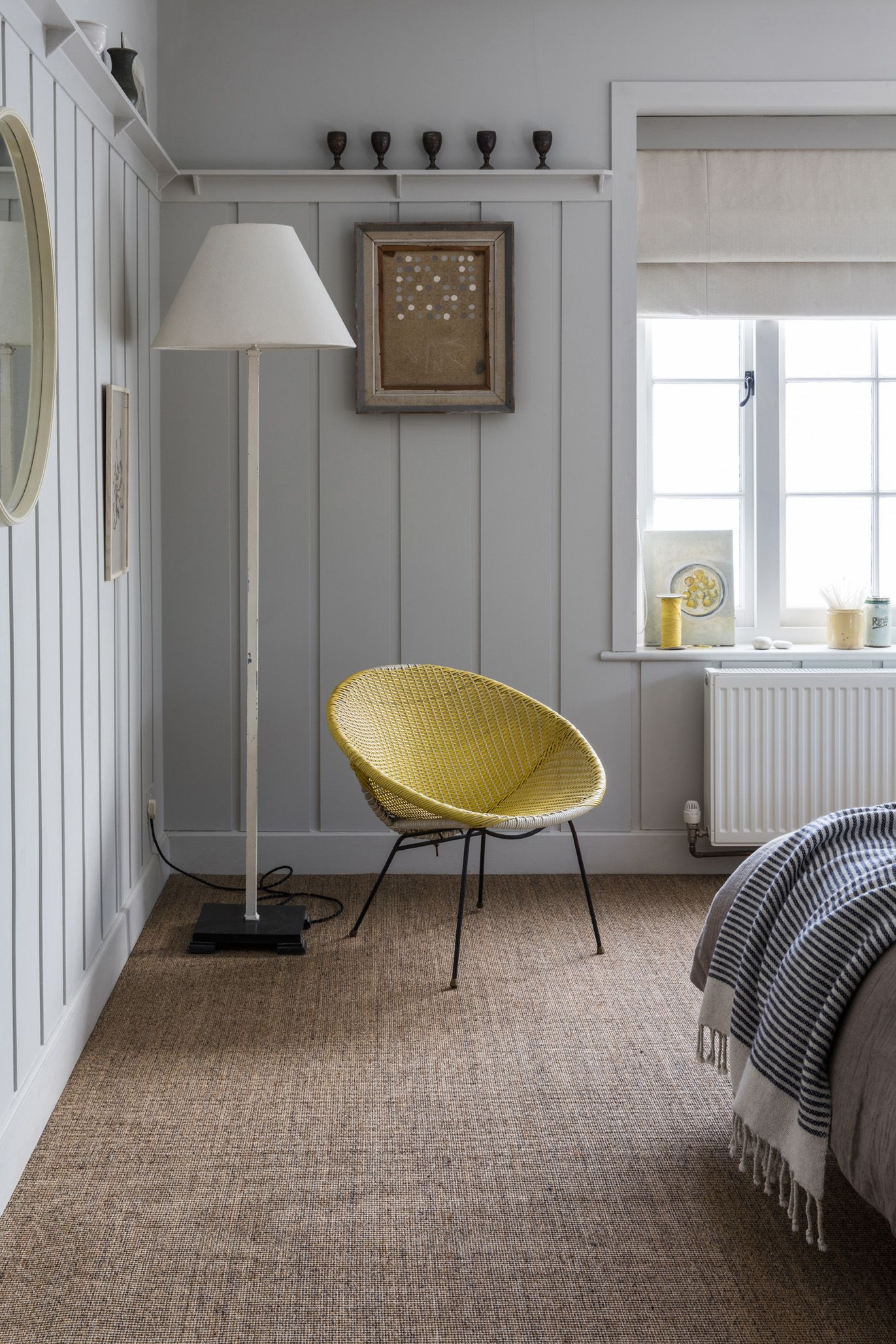 Natural Flooring Is The Perfect Addition To A Neutral Room This Sisal Carpet Is 100 Natural And Come Living Room Carpet Bedroom Flooring Alternative Flooring